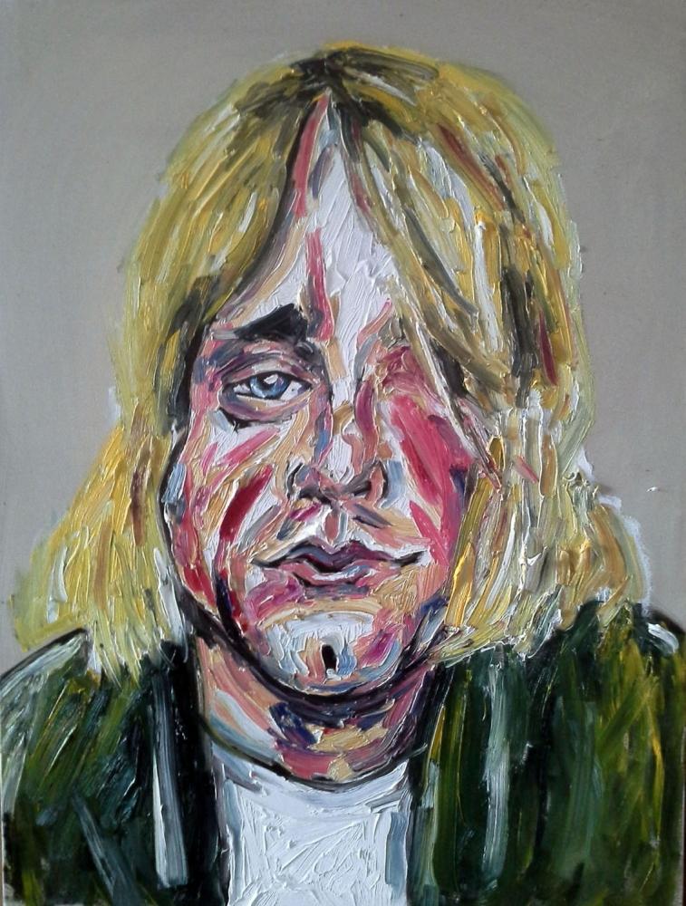 Kurt Cobain by TIPPETTURES